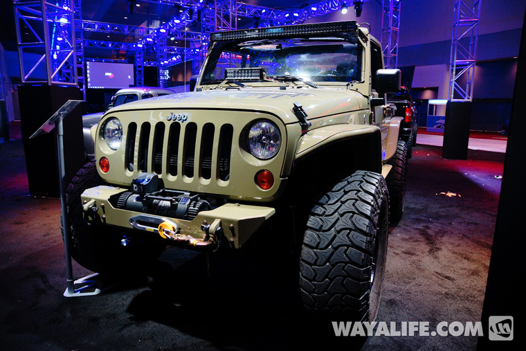 2013 SEMA Commando Green Zone Jeep JK Wrangler 2-Door