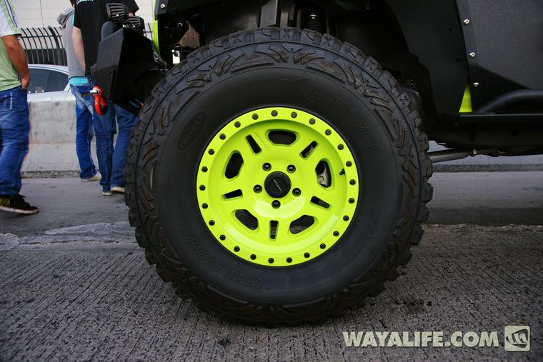 2013 Sema Gecko Green Kao Jeep Jk Wrangler 4 Door