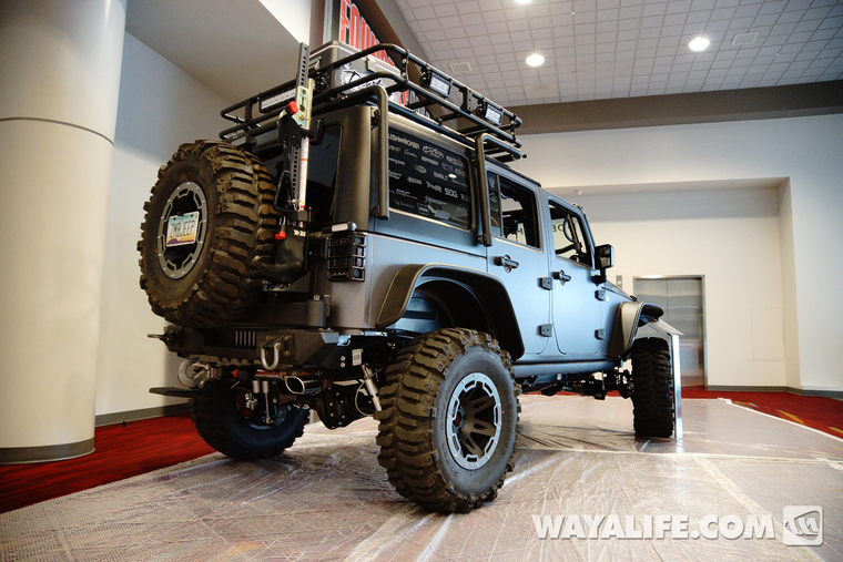 2013 Sema Project Doomsday Jeep Jk Wrangler 4 Door