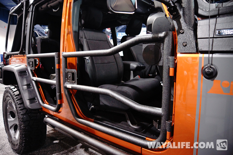 2013 Sema Rugged Ridge Mango Tango Jeep Jk Wrangler 4 Door