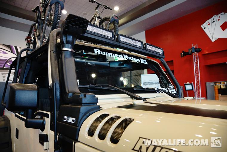 2013 Sema Rugged Ridge Tan Jeep Jk Wrangler 2 Door