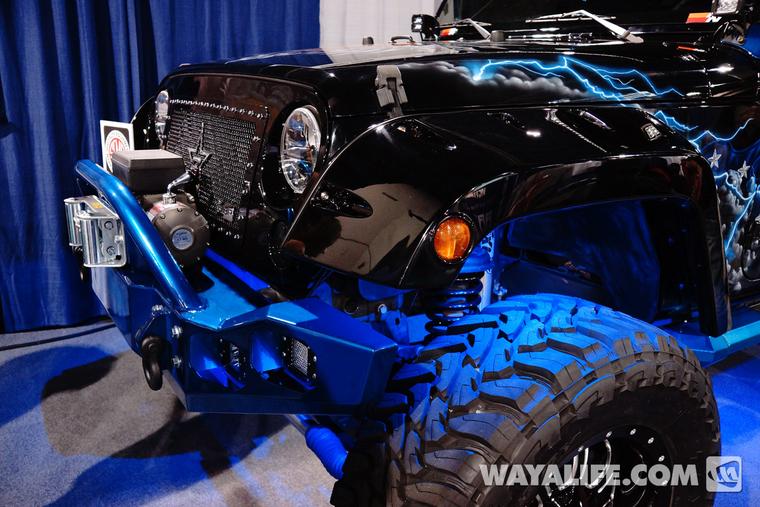 2013 Sema Boondock Jeep Jk Wrangler 4 Door