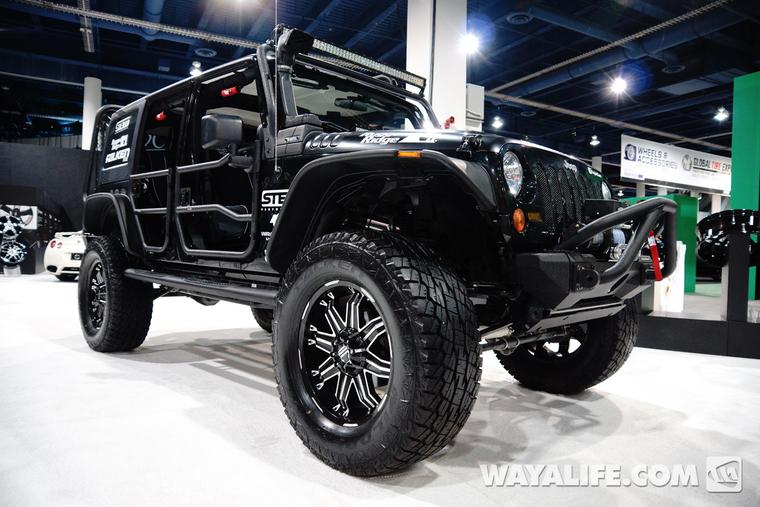 2013 Sema 2crave Jeep Jk Wrangler 4 Door