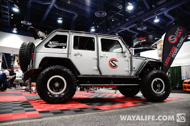 2013 Sema Silent Coat Jeep Jk Wrangler 4 Door