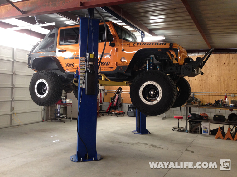 Daystar budget lift for the jeep renegade page 2 for Garage jeep poitiers