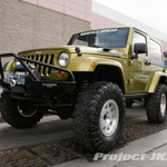 Burnsville Off-Road Rescue Green Jeep JK Wrangler