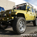 Burnsville Off-Road Rescue Green Jeep JK Wrangler Unlimited