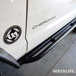 Jeep XJ Cherokee AJ Offroad Rocker Guard Installation Write-Up