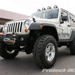 TeraFlex Silver Jeep JK Wrangler 2-Door