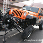 TeraFlex Custom Orange Jeep JK Wrangler Unlimited