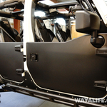 Rugged Ridge Jeep JK Wrangler Unlimited Half Doors for Moby