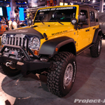 Mopar ORT Yellow Jeep JK Wrangler Unlimited