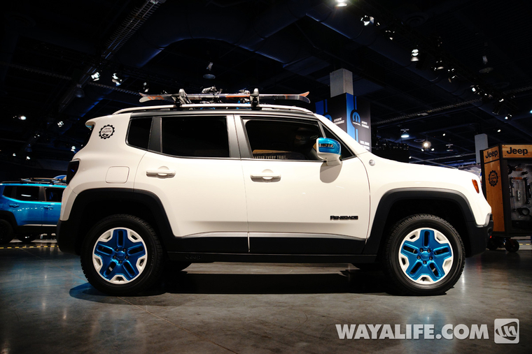 Lifted Jeep Renegade >> 2014 SEMA Show - Jeep Renegade Trailhawk Frostbite ...
