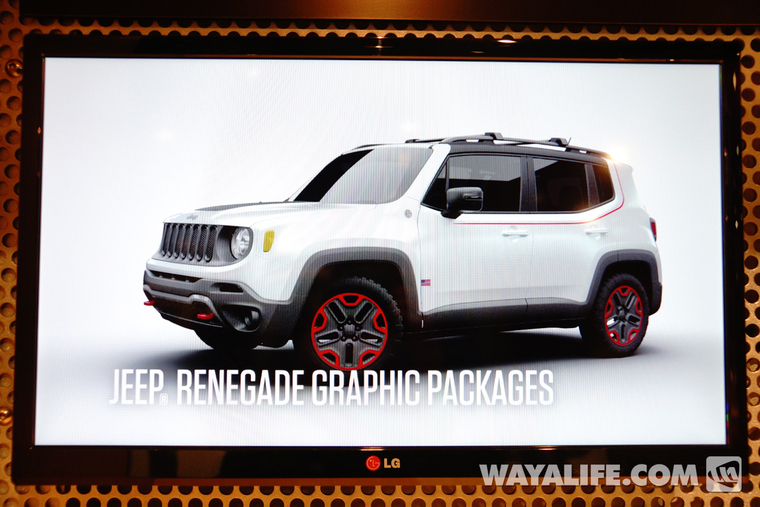 Blue Jeep Renegade >> 2014 SEMA Show - Jeep Renegade Graphic Packages