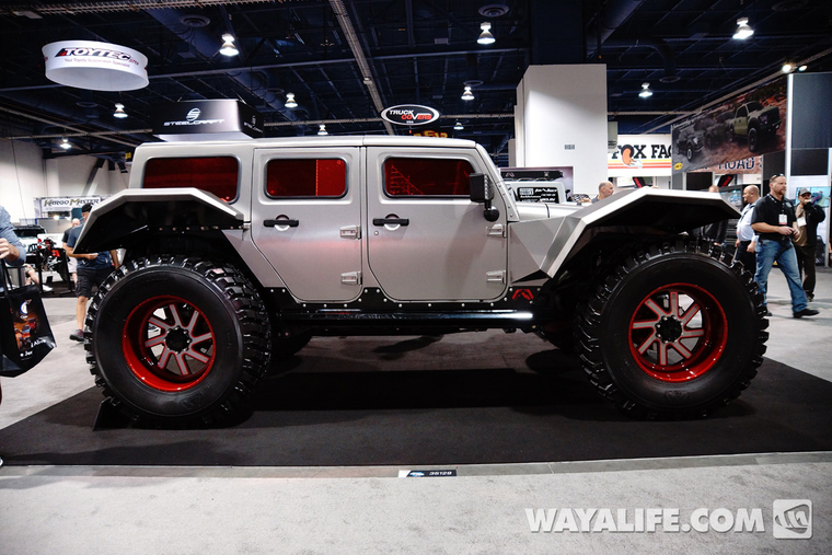 Carson City Jeep >> 2014 SEMA Fab Fours Legend Jeep JK Wrangler Unlimited