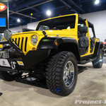Bestop Yellow 4-Door Jeep JK Wrangler Unlimited