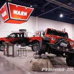 WARN Red Jeep JK Wrangler Unlimited