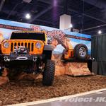 TeraFlex Orange Jeep JK Wrangler Half Display