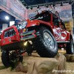 Skyjacker Red Jeep JK Wrangler Unlimited