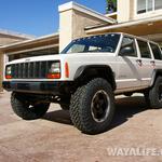 Bushwacker Jeep XJ Cherokee Flat Fenders