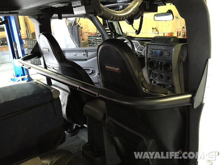 Rock Hard Jeep JK Wrangler Front Harness Bar Installation Write-Up