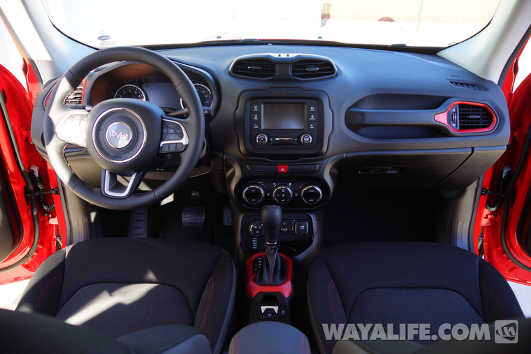 A walk around renny 1st day home poser shots of our 2015 - Jeep renegade trailhawk interior ...