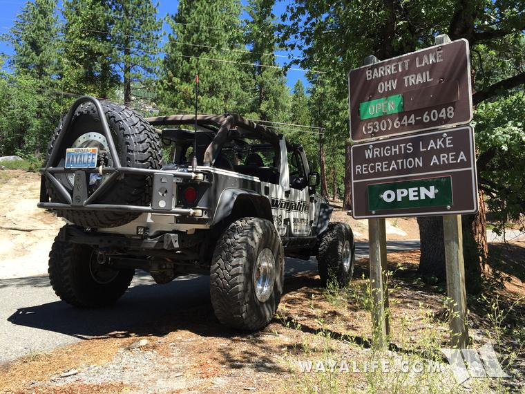 Barrett Lake OHV Jeep Trail - 1st Run Since Re-Opening Trip Report