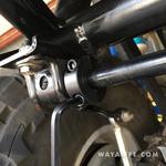 Jeep JK Wrangler Rear Sway Bar Shaft Collars