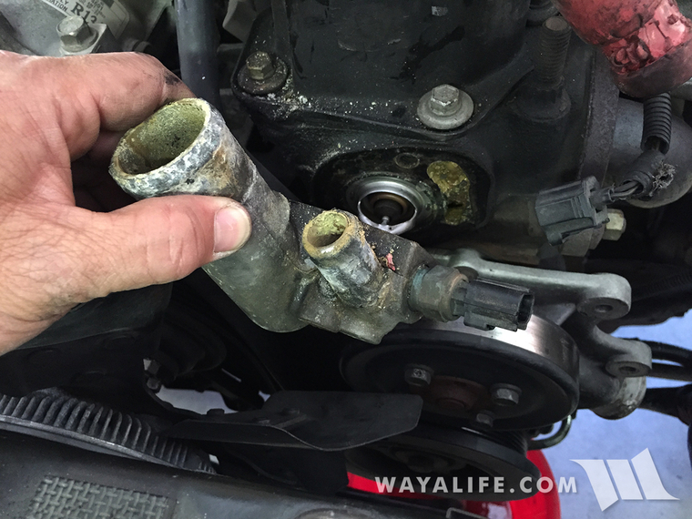 2011 jeep grand cherokee thermostat housing | replace thermostat