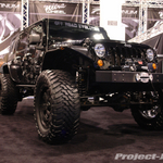 Off Road Evolution Black Jeep JK Wrangler Unlimited
