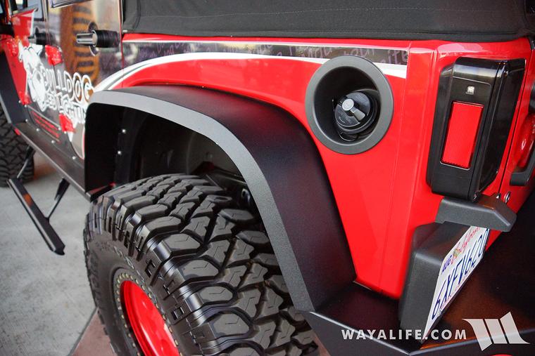 Carson City Jeep >> 2015 SEMA Red Bull Dog LED Jeep JK Wrangler Unlimited