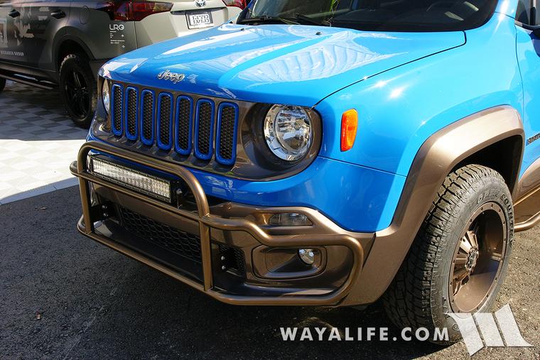 2015 Sema Blue Dub Jeep Renegade