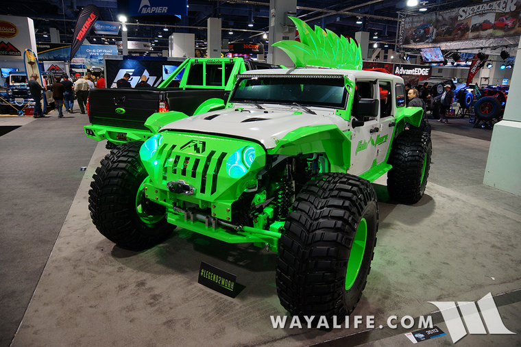 lime green jeep - 760×507