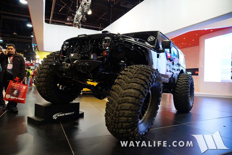 2015 SEMA Spyder Black Ops Jeep JK Wrangler Unlimited