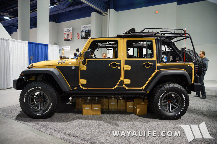 2015 Sema Rugged Ridge Dune Jeep Jk Wrangler Unlimited