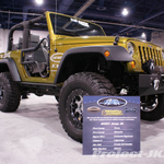 Performance Accessories Rescue Green Jeep JK Wrangler 2 Door