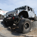 Off Road Evolution Silver Jeep JK Wrangler Unlimited