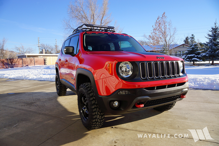 Jeep Renegade Lifted >> Jeep Renegade Trailhawk Daystar 1 5 Lift 225 75r16 Cooper