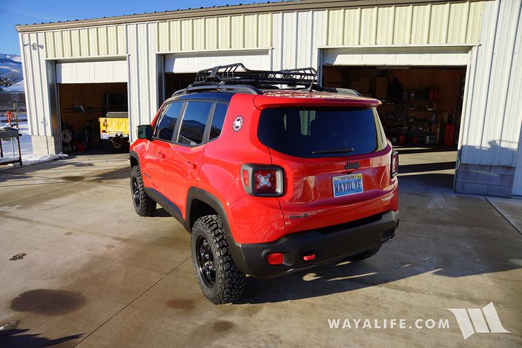 Jeep Renegade Trailhawk Daystar 1 5 Quot Lift Amp 225 75r16