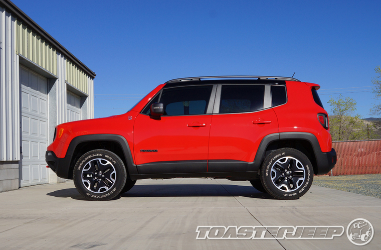 Lifted Jeep Renegade >> Jeep Renegade Trailhawk Daystar 1 5 Lift 225 75r16 Cooper