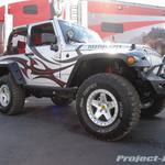 Skyjacker Silver Jeep JK Wrangler 2-Door