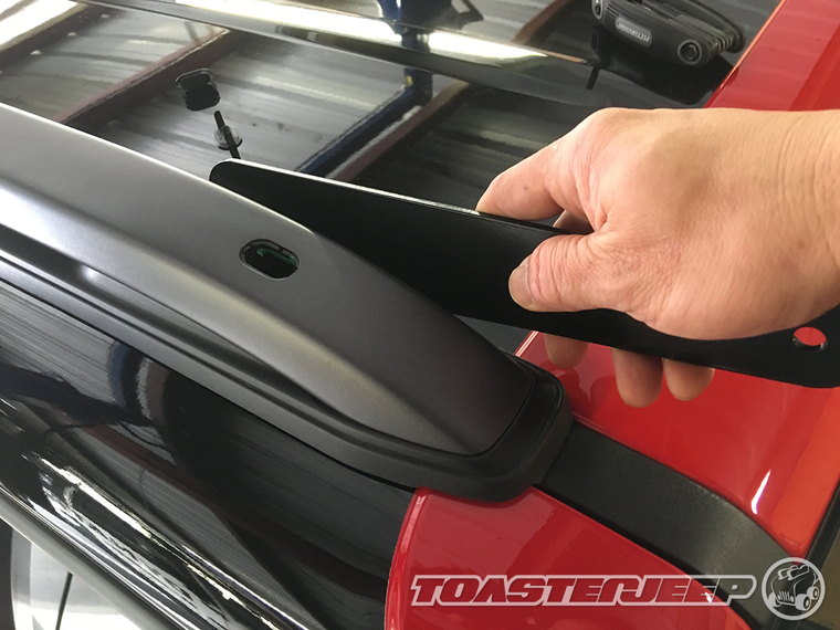 Jeep renegade daystar 40 kc led light bar installation write up using a 5mm allen wrench secure the roof rack rails to the top of your renegade by tightening the 2 forward most bolts aloadofball Choice Image