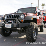 Project Con Artist Red Rock Jeep JK Wrangler Unlimited
