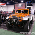 Rampage Orange & Silver Jeep JK Wrangler Unlimited