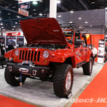 TeraFlex Red Jeep JK Wrangler Unlimited