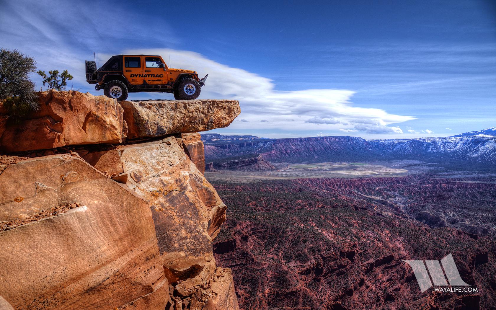 Rubicat Jeep JK Wrangler on Top of the World Moab