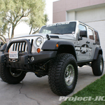 Rubicon Express Silver Jeep JK Wrangler Unlimited