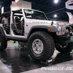 FULL-TRACTION Bright Silver Jeep JK Wrangler Rubicon Unlimited 4-Door