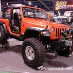 FULL-TRACTION Custom Orange Metallic Jeep JK Wrangler 2-Door