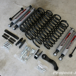 """Rough Country Jeep JK Wrangler 4"""" Suspension Lift"""